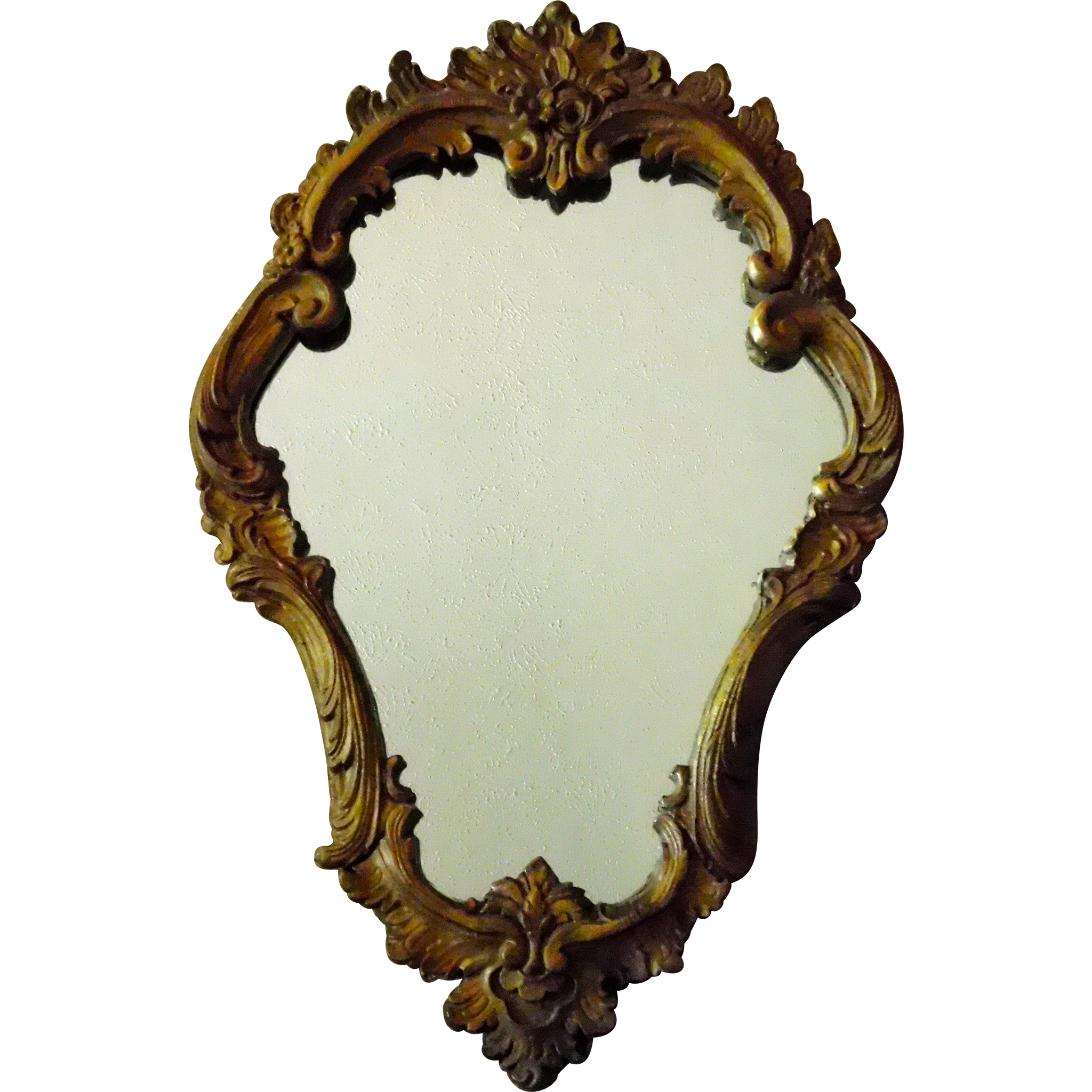 Gorgeous Rococo Wood and Composition Cartouche