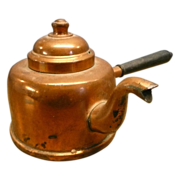 Copper Coffee or TeaPot For Single Service Made In Finland