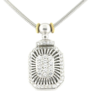 Modern Estate Michael B Platinum & Diamond Necklace