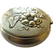 Trinket Box - Silver Plated Antique Art Nouveau - Circa 1900