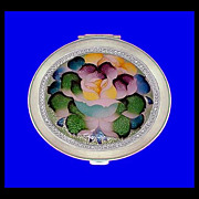 NACON TOKYO Vintage Basse Taille Enamel Flower Compact