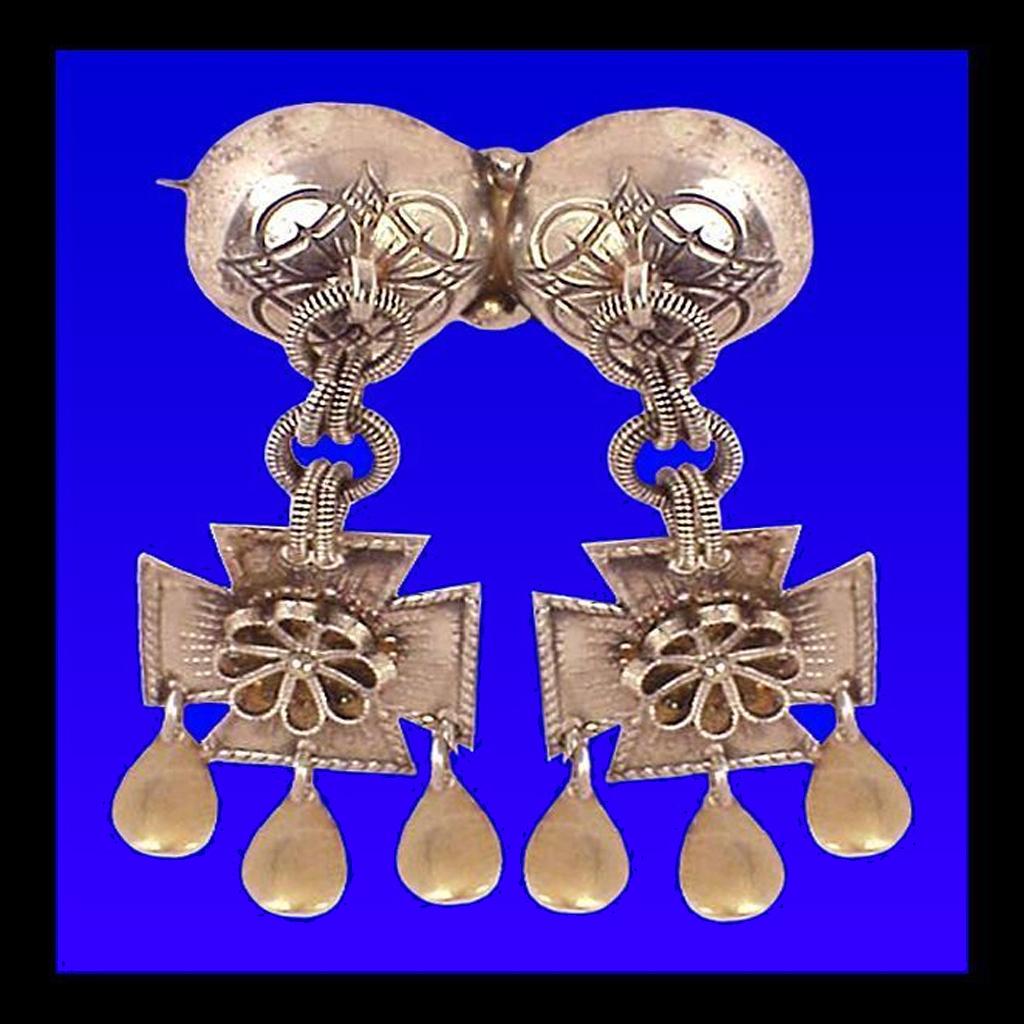 JOHL 830 Silver Antique Solje Pin