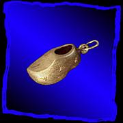 DUTCH CLOG 18K Gold Charm or Pendant