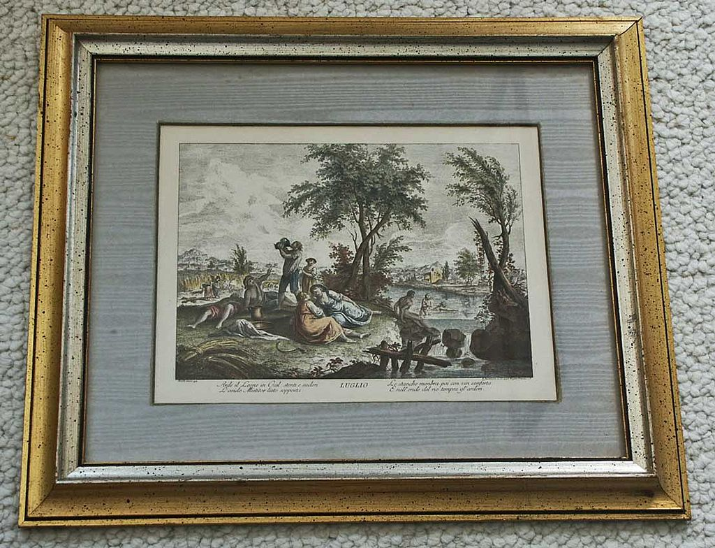 Print Bartolozzi Italian July Print