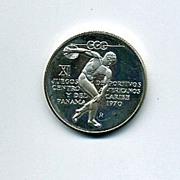 Republic of Panama 5 Balboa Silver Commemorative Coin