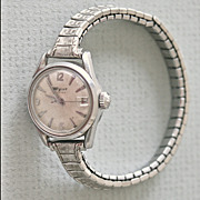Wyler Incaflex Vintage Date Watch Ladies Expansion Band