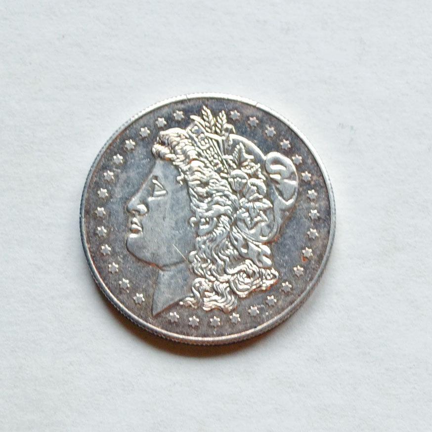 Morgan Dollar Replica Silver Round One Ounce