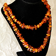 Baltic Amber Necklace Two Strand