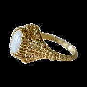 Opal Ring 14K Birmingham Mark