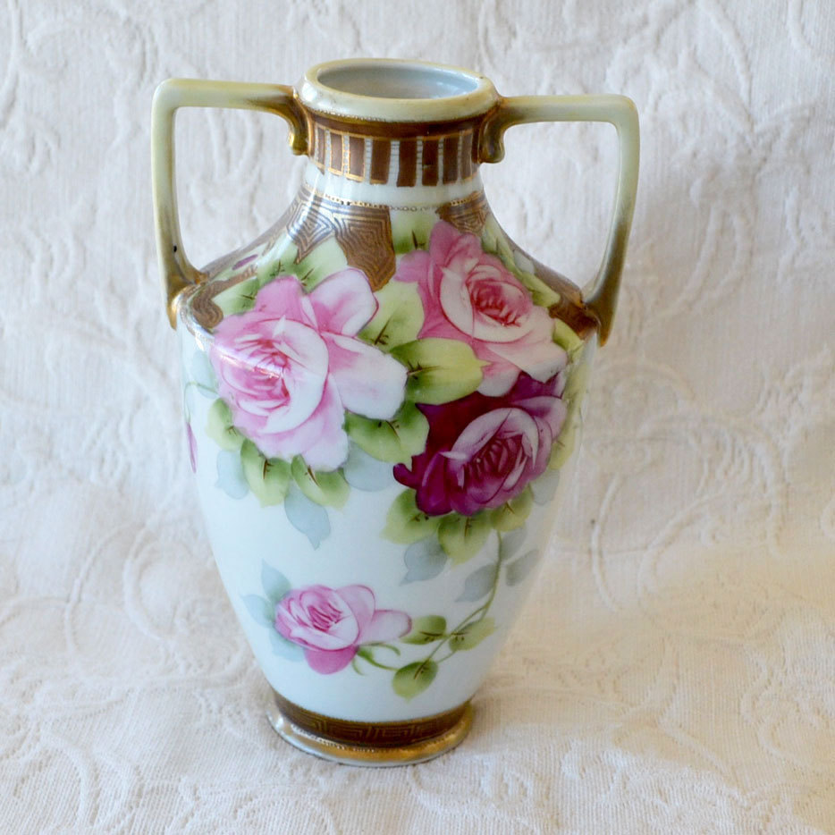 Hand painted vase nippon best vase decoration 2018 hand painted nippon vase antique 265 best noritake nippon images on dishes news and reviewsmspy