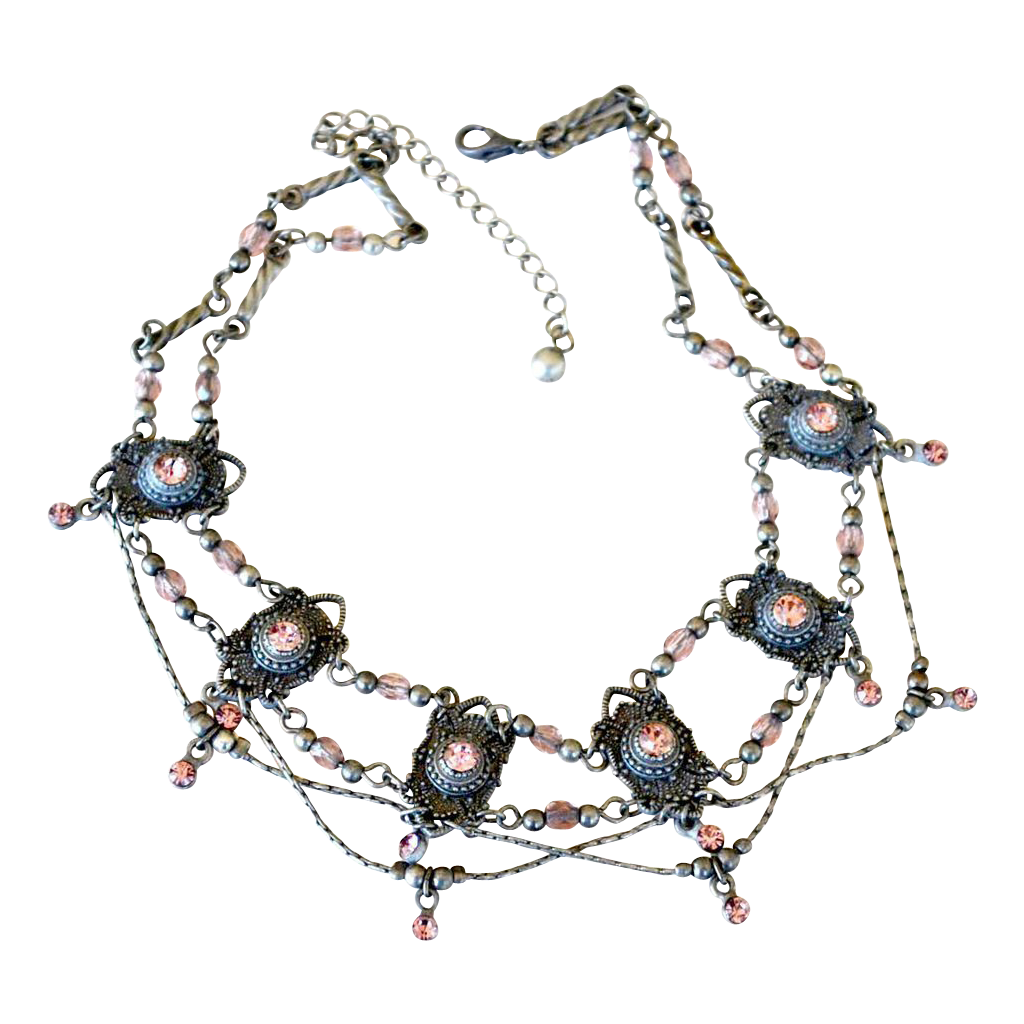 Vintage Festoon Necklace