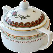 Nippon Sugar Bowl Hand Painted