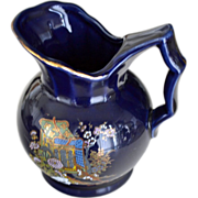 Pitcher Creamer Cobalt Blue Japan