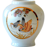 Porcelain Vase Japan Birds