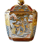 Satsuma Lidded Vase or Jar