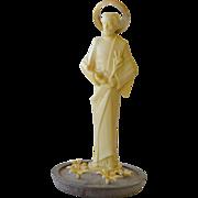Jesus Figurine Old Plastic Italy