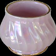 Sadler Vase or Dish Pink Pearlescent Luster