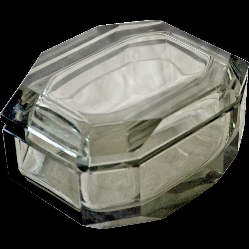 Trinket Jewelry Box Smokey Gray