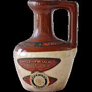 Miniature Mohawk Coffee Demitasse Crock Jug - Red Tag Sale Item