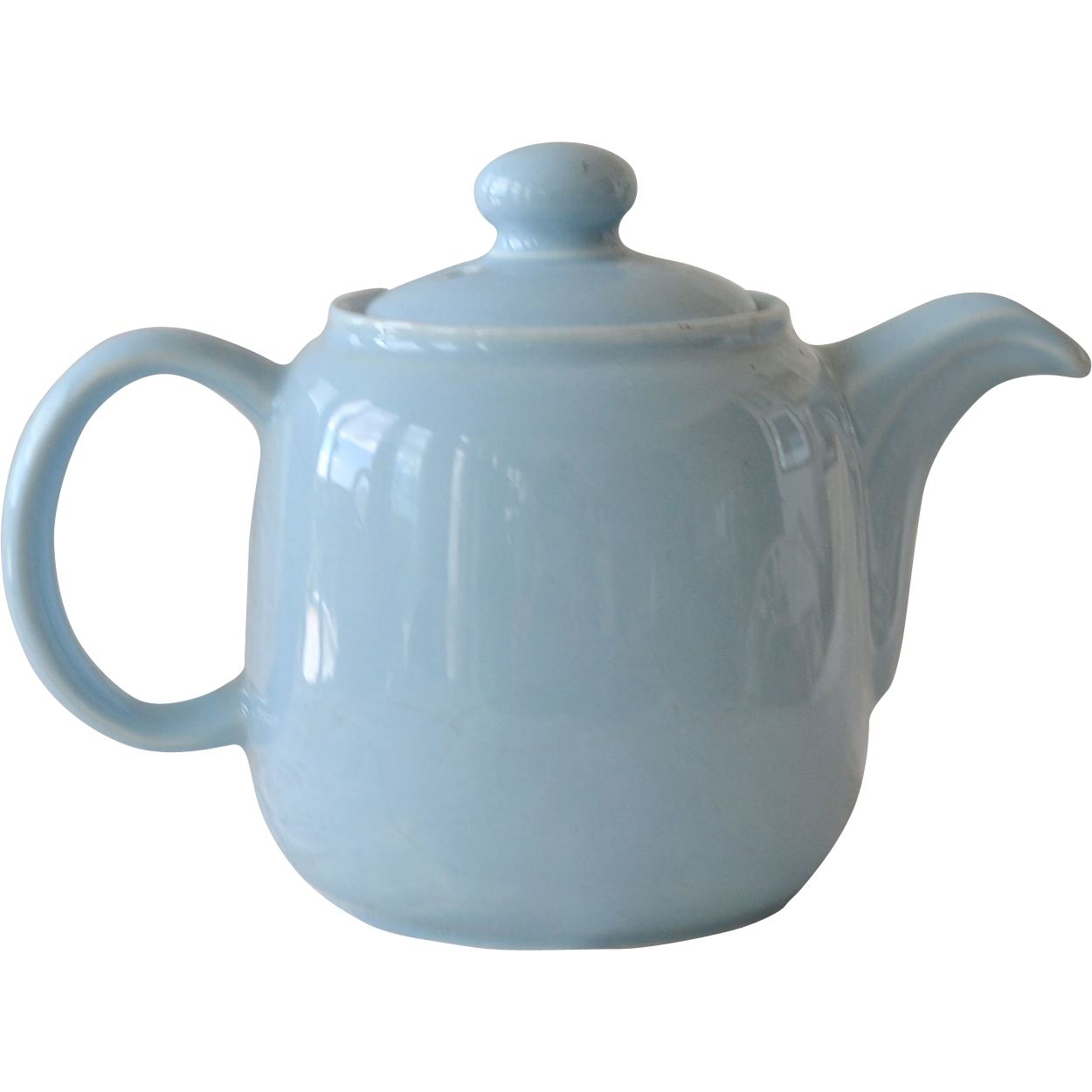 Sadler Teapot Robins Egg Blue