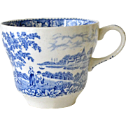 Cup Blue and White Swinnertons Silverdale Staffordshire