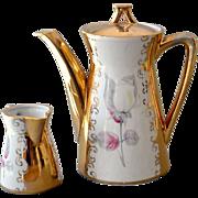 Bavaria Espresso Demitasse Coffee Pot and Creamer