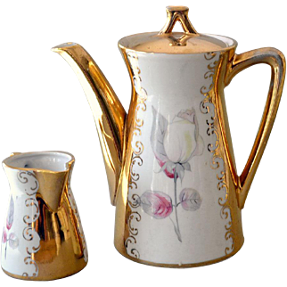 Bavaria Espresso Demitasse Coffee Pot and Creamer