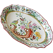 Spode Copeland Peacock Serving Dish Bowl