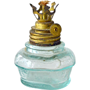 Miniature Oil Lamp or Lamp Insert