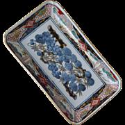 Porcelain Dish Tray Sadek  Oriental Design