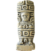 Clay Ethnic or Tribal Figurine