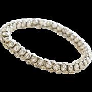 Bracelet Round Rhinestone