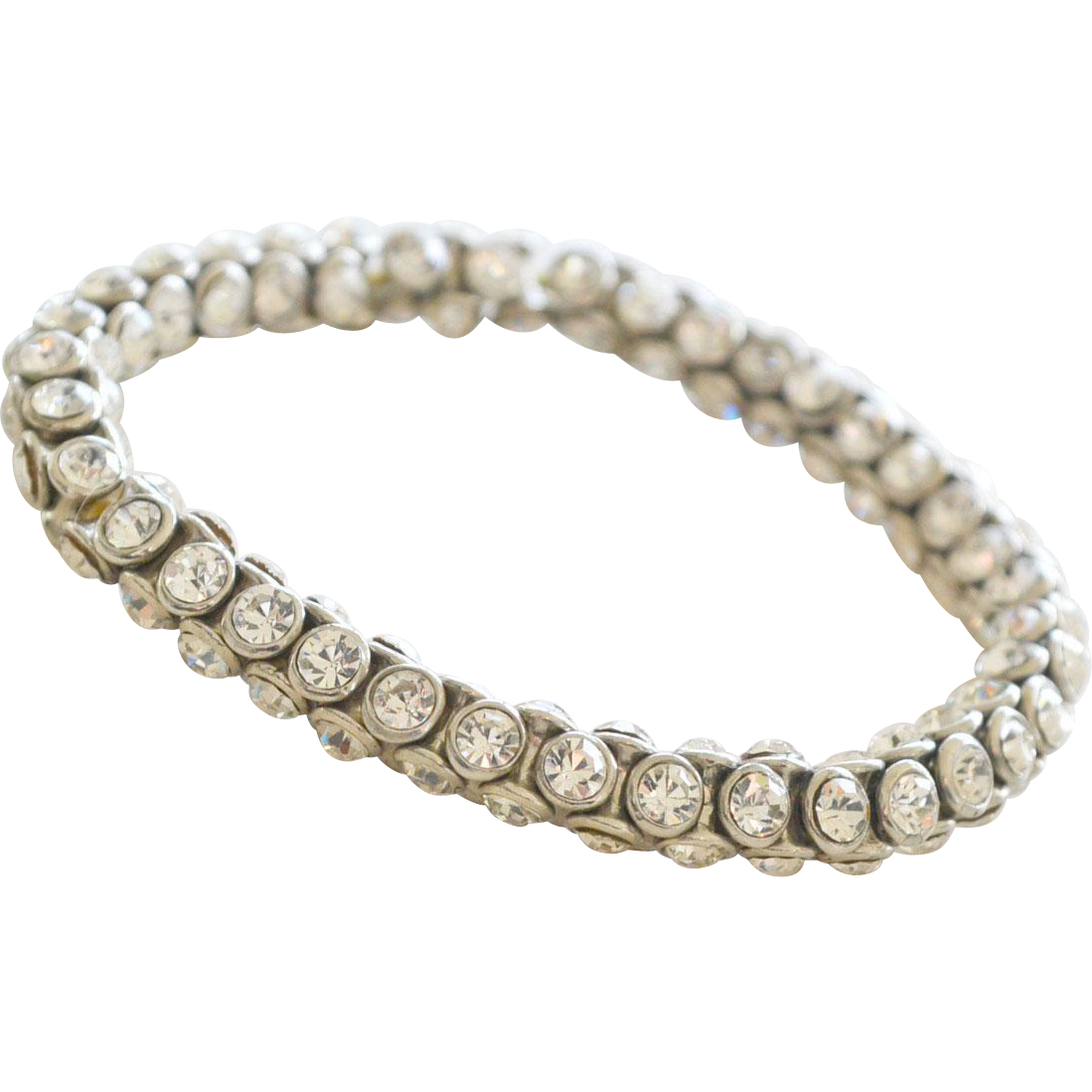 Bracelet All Round Rhinestones