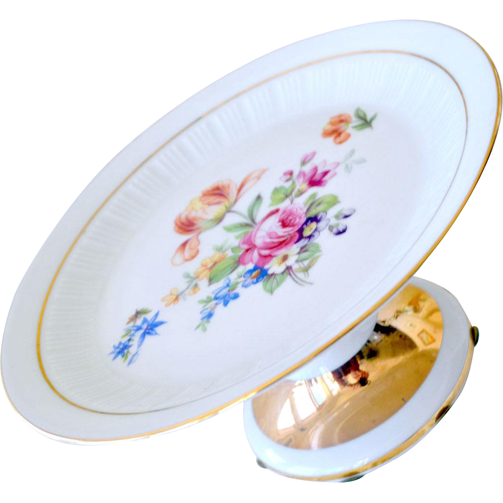 Bavaria Porcelain Compote Schumann Arzberg