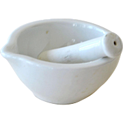 Mortar and Pestle Deshoulieres France