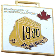 Watch Fob 1980 Canadian Fob Collectors