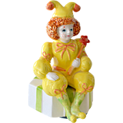 Mann Music Box 1986 Clown Jester That's Entertainment
