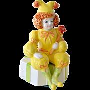 Mann Music Box 1986 Clown Jester That's Entertainment
