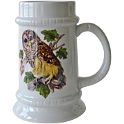Goebel Oversized Tankard Barred Owl