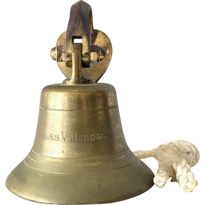 Nautical Ship Bell SS volendam