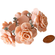 Bracelet Big Sculpted Roses