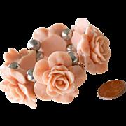 Bracelet Big Sculpted Roses