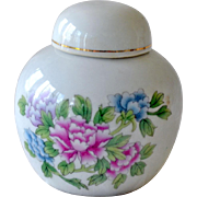 Chinese Miniature Lidded Vintage Jar