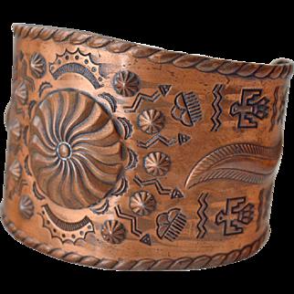 Bracelet Copper Bell Trading Post
