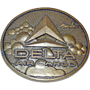 Belt Buckle Delta Air Cargo
