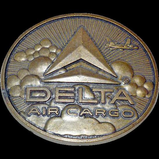 Belt Buckle Delta Air Cargo
