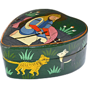 Dresser or Trinket Box Paper Mache