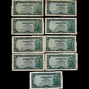 Latvia Currency Notes 25 Latu 1938