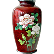 Oriental Vase Cloisonne Enamel
