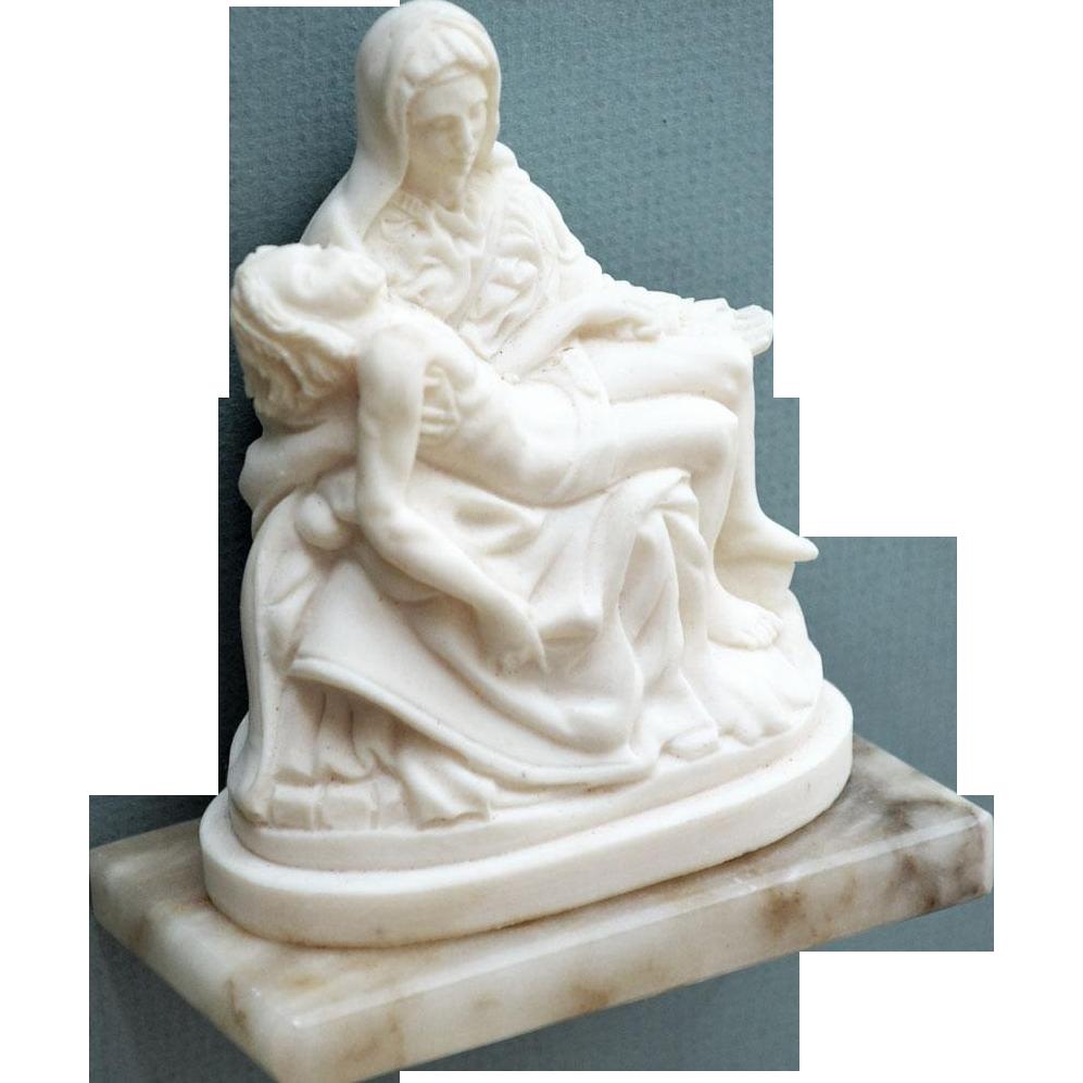 Religious Pieta Figurine
